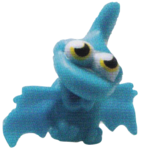 Gurgle figure brilliant blue