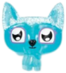 Lady Meowford figure frostbite blue