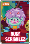 Collector card s7 ruby scribblez