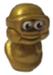 Myrtle figure micro gold