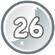 Level 26 icon