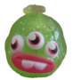 Squiff figure glitter green