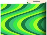 Green Wiggly Wallpaper
