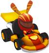 Moshi Karts helmet wild kat