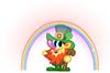 O'Really Rainbow Pose