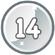 Level 14 icon