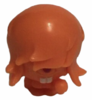Dustbin Beaver figure sonic orange