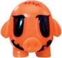 Mr Snoodle figure pumpkin orange