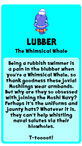 Lubber bio