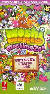 Moshling Zoo Official Game Guide cover