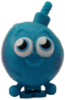 Cherry Bomb figure brilliant blue