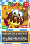Collector card food factory oddie