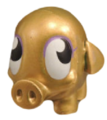 Mr Snoodle figure gold