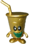 Fizzy food factory figure gold