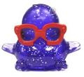 DJ Quack figure glitter purple