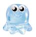 Sweeney Blob figure squishy blue