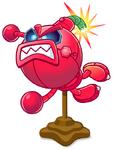 Robot Cherry Bomb Statue