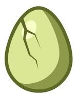 Mystery Egg Cracked