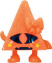 Cleo figure pumpkin orange