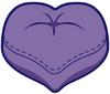 Heart-shaped Beanbag