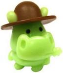 Humphrey figure scream green