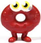 Oddie figure bauble red