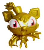 Flitter figure gold