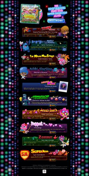 Moshimusic website