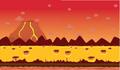 Moshling Boshling background volcano