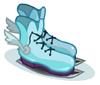 Winged Ice Skates