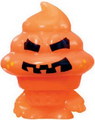 Coolio figure pumpkin orange