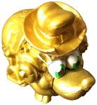 Fopkin figure gold