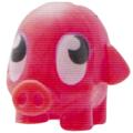 Mr Snoodle figure shocking pink