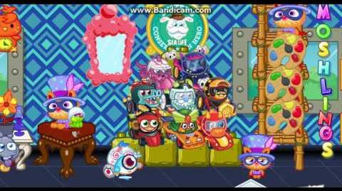 Moshi Monsters - Raffy in the room footage