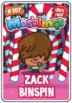 Collector card s4 zack binspin