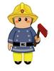 Cuddly Fireman