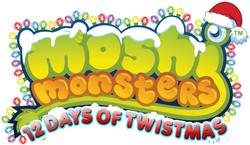 Moshi Monsters 12 Days of Twistmas Logo