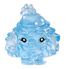Leo figure squishy blue