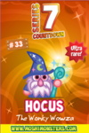 Countdown card s7 hocus