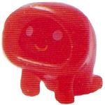 Ecto figure glitter orange