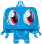 Nipper figure pearl blue