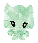 Captain Squirk figure squishy green