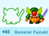 General Fuzuki moshi bandz