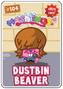 Collector card s2 dustbin beaver