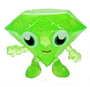 Roxy figure glitter green