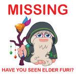 Elder furi missing