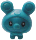 Scamp figure brilliant blue