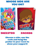 Zack vs sweettooth posters