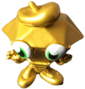 Roxy circus figure gold
