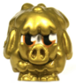 Woolly figure gold